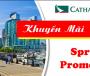 Ưu đãi độc quyền từ Cathay Pacific cho hành khách đi Hong Kong