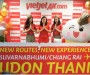 Vietjet Thái Lan tung hơn 10.000 vé từ 0 đồng