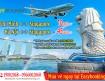 Siêu khuyến mãi vé máy bay từ Hồ Chí Minh đi Singapore từ 10 USD