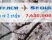Vé máy bay đi Seoul giá vé khứ hồi