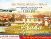 Khuyến mãi đường bay thẳng giữa Hà Nội <-> Praha (Cộng Hòa Czech)