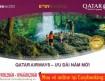 Ưu đãi năm mới vé đi Doha và Châu Âu từ hãng Qatar Airways