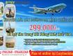 Vietnam Airlines khuyến mãi vé máy bay lệch chiều sau Tết