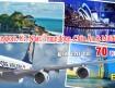 Vé máy bay đi Singapore, Úc, Châu Âu, Trung đông, Nhật và Maldives