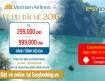 Ưu đãi giá vé Vietnam Airlines 2016 với giá từ 299,000đ