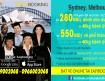 Vé máy bay đi Úc giá siêu khuyến mãi từ Vietnam Airlines