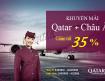 Khuyến mãi cùng Qatar Airways giảm 35% giá vé đi Châu Âu