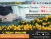 Vé máy bay đi Canada tháng 04/2018 từ hãng Air Canada