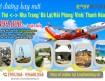 Đường bay mới giữa Cần Thơ - Nha Trang - Đà Lạt hãng Vietjet Air