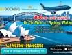 Khuyến mãi Vé máy bay đi Úc từ hãng Vietnam Airlines