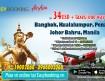Ưu đãi với giá vé máy bay đi Thailand, Malaysia từ hãng Air Asia