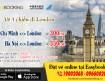 Vé máy bay 1 chiều đi London giá tốt nhất tháng 08-2017