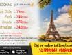 Gia hạn vé rẻ đi Ấn Độ & Châu Âu từ hãng Jet Airways