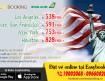 Vé đi Mỹ và Canada giá tốt nhất từ tháng 08-2017