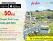 Vé máy bay đi Malaysia, Thái Lan siêu rẻ  tại Easybooking.vn