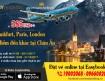 Ưu đãi đặc biệt vé máy bay đi Châu Âu từ hãng Vietnam Airlines