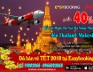 Giảm 40% giá Vé đi Thailand và Malaysia Tháng 11-2017
