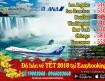 Ưu đãi khuyến mãi Vé máy bay đi Mỹ  và Canada tháng 10-2017