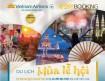 Bay du lịch mùa lễ hội với giá vé khứ hồi từ 9 USD từ Vietnam Airlines