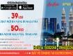Đã mở tuyến bay Đà Nẵng đi Malaysia giá khuyến mãi chỉ 39USD