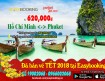 Mở đường bay mới cho chặng bay Hồ Chí Minh đi Phuket (Thái Lan)