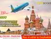 Ưu đãi mới từ Vietnam Airlines chỉ tư 350 USD vé khứ hồi đi Moscow tháng 11/2019