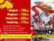 Hành trình Đông Nam Á, Đông Bắc Á giá rẻ từ Jetstar Pacific