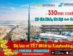 Khuyến mãi vé máy bay đi Dubai 12-2017 từ hãng China Southern Airlines