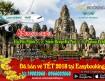 Khuyến mãi vé máy bay đi Cambodia 12-2017 từ hãng Lanmei Airlines