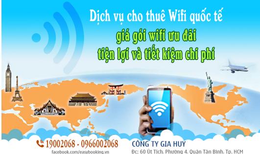 Dịch vụ wifi